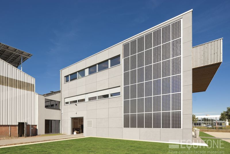 office building O-Energy passive building Solarcompany