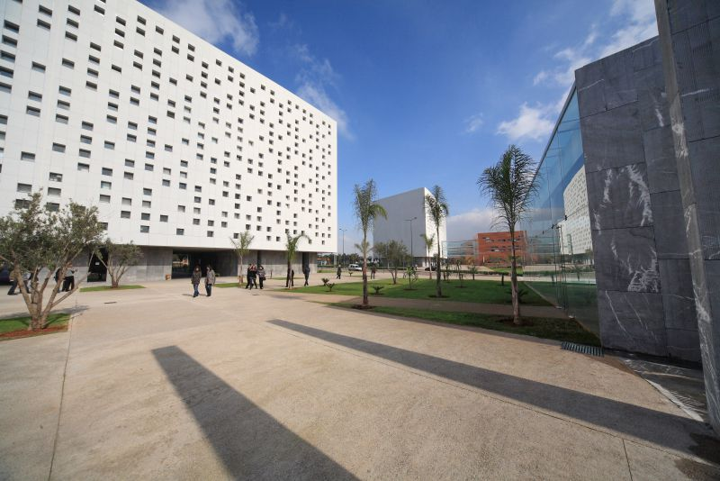 Morocco-Casablanca-office building, Панель фиброцементная Tectiva
