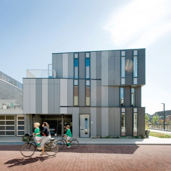 The Netherlands - Leiden - housing unit, EQUITONE [natura]